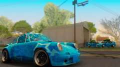 Porsche 911 Blue Star for GTA San Andreas