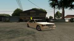 Mercedes-Benz W124 Coupe for GTA San Andreas