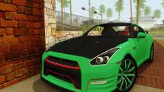 Nissan GTR Streets Edition for GTA San Andreas