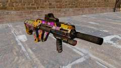 Machine Steyr AUG-A3 Graffitti for GTA 4