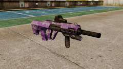 Автомат Steyr AUG-A3 Optic Purple Camo for GTA 4