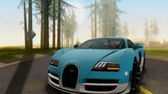 Bugatti Veyron Super Sport 2011 for GTA San Andreas