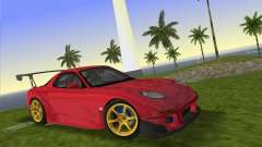 Mazda RX7 FD3S RE Amamiya Road Version for GTA Vice City