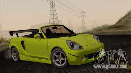 Toyota MR-S 2002 for GTA San Andreas