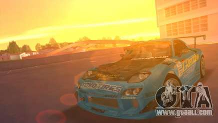 Mazda RX7 FD3S RE Amamiya G-Reddy for GTA Vice City