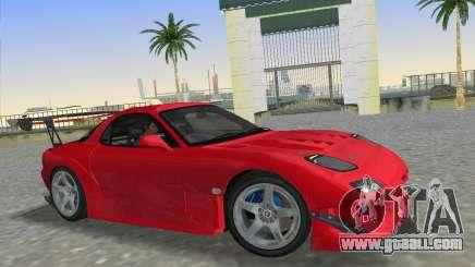 Mazda RX7 FD3S RE Amamiya Road Version for GTA Vice City