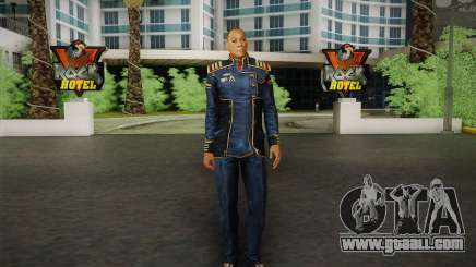 Captain David Anderson из Mass Effect series for GTA San Andreas