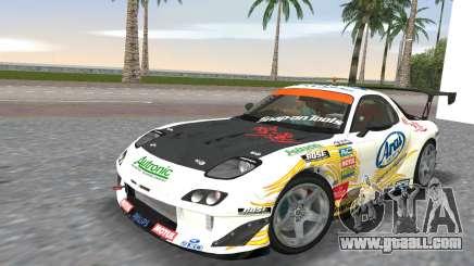 Mazda RX7 FD3S RE Amamiya Arial for GTA Vice City