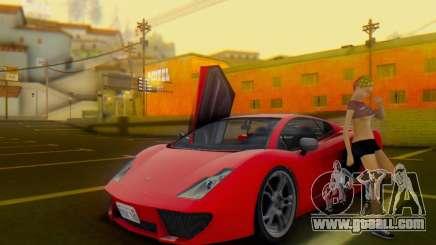 Pegassi Vacca for GTA San Andreas