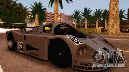 Mercedes Benz Sauber C63 1989 for GTA San Andreas