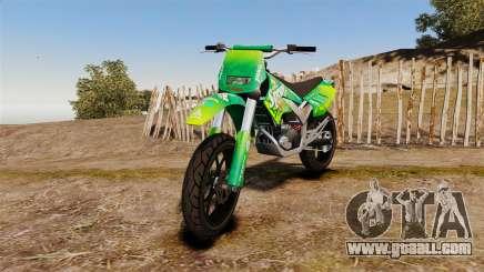 GTA V Maibatsu Sanchez wheels v2 for GTA 4