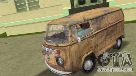 Volkswagen T2 Super Rust for GTA Vice City