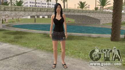 Casual Girl for GTA San Andreas