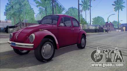 1973 Volkswagen Beetle for GTA San Andreas
