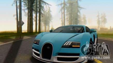 Bugatti Veyron Super Sport 2011 for GTA San Andreas