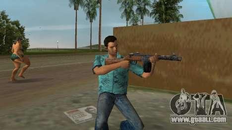 Submachine Gun Shpagina for GTA Vice City forth screenshot