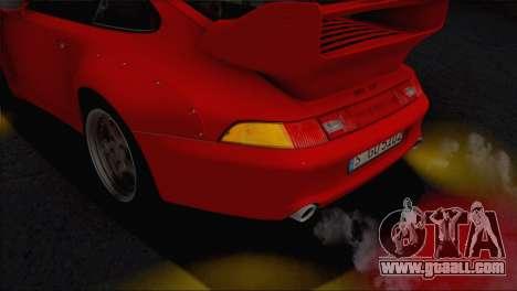 Porsche 911 GT2 (993) 1995 V1.0 EU Plate for GTA San Andreas interior
