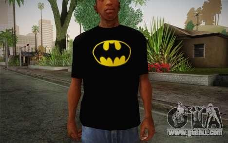 Batman Swag Shirt for GTA San Andreas