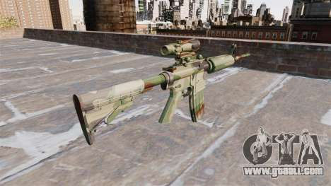 Automatic carbine MA NATO Camo for GTA 4 second screenshot