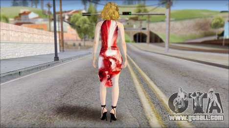 Masha Dress for GTA San Andreas second screenshot