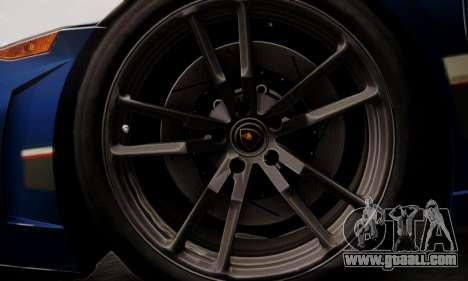 Lamborghini Gallardo LP 570-4 2011 Police v2 for GTA San Andreas interior
