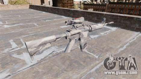 Automatic carbine MA Grey cane Camo for GTA 4 second screenshot