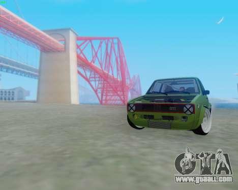 Volkswagen Golf Mk I for GTA San Andreas left view