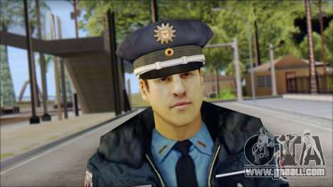 Deutscher Polizist for GTA San Andreas third screenshot