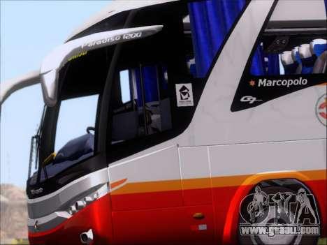 Marcopolo Paradiso 1200 Harapan Jaya for GTA San Andreas inner view