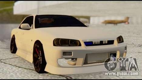 Nissan Skyline ER34 for GTA San Andreas left view