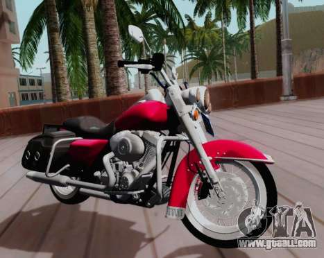 Harley-Davidson Road King Classic 2011 for GTA San Andreas