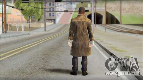 Aiden Pearce for GTA San Andreas second screenshot