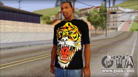 Ed Hardy Lion T-Shirt for GTA San Andreas