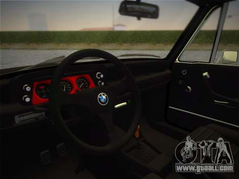 BMW 2002 Tii (E10) 1973 for GTA Vice City right view