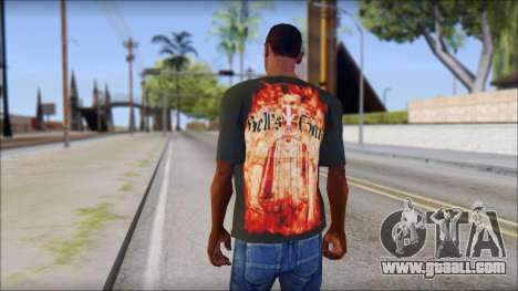 Undertaker T-Shirt for GTA San Andreas second screenshot