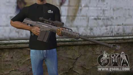 Heavy Sniper from GTA 5 v2 for GTA San Andreas third screenshot