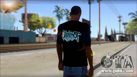 SlipKnoT T-Shirt v3 for GTA San Andreas second screenshot