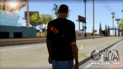 Trivium T-Shirt Mod for GTA San Andreas second screenshot