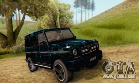 Mercedes-Benz G65 Black Square Pattern for GTA San Andreas