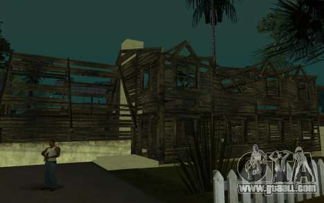 The house of Call of Duty 4 for GTA San Andreas