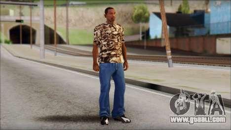Skulls Shirt for GTA San Andreas third screenshot
