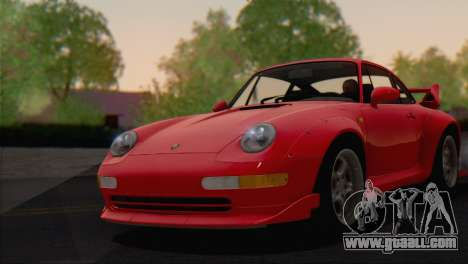 Porsche 911 GT2 (993) 1995 V1.0 EU Plate for GTA San Andreas