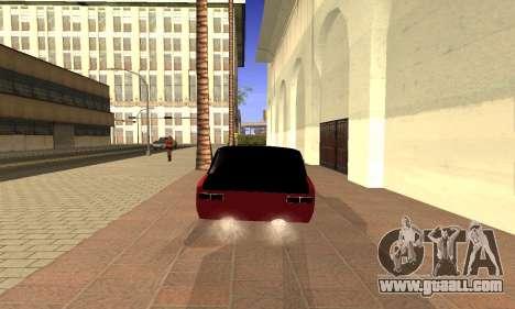 VAZ 2101 for GTA San Andreas back left view