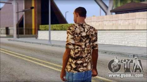 Skulls Shirt for GTA San Andreas second screenshot