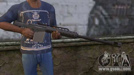 Heavy Sniper from GTA 5 for GTA San Andreas third screenshot