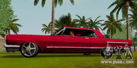 Savanna Coupe for GTA San Andreas left view