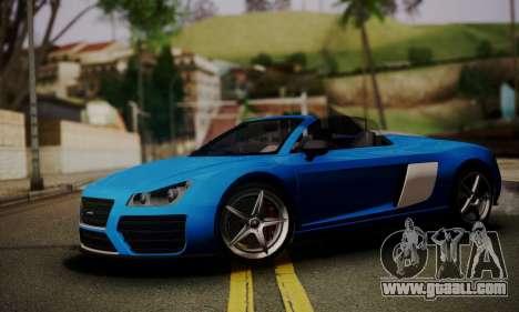 Obey 9F Cabrio for GTA San Andreas