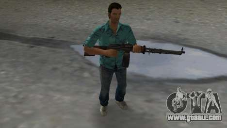 Degtyaryov's Manual Machinegun for GTA Vice City second screenshot