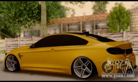 BMW M4 for GTA San Andreas left view