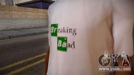 Breaking Bad Shirt for GTA San Andreas third screenshot